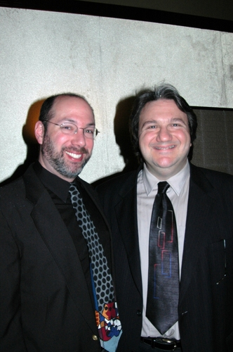 BJ Forman (Stage Manager) and Jim Bossi