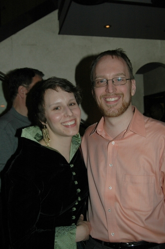 Todd Edward Ivins (Scenic designer) and wife Abigail Trueblood