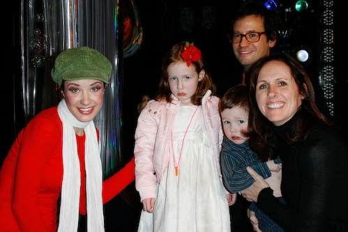 Molly Shannon And Family Visit THE LITTLE MERMAID