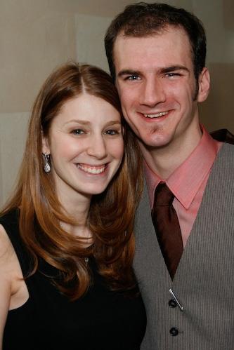 Jennifer Taylor and Jordan Dyniewski