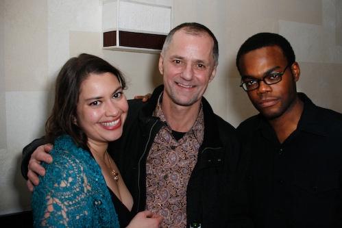 Vanessa Aspillaga, Peter Pucci, and William Jackson Harper