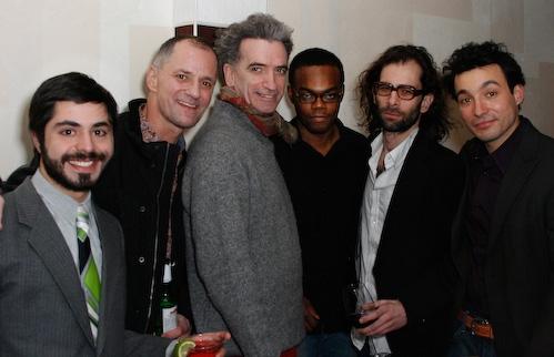 Satya Bhabha, Peter Pucci, Christopher McCann, William Jackson Harper, Daniel Fish, a Photo