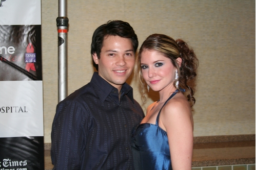 Jason Tam and Brittany Underwood