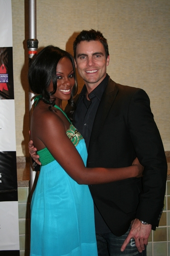 Tika Sumpter (OLTL) and Colin Egglesfield
