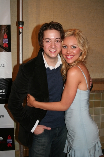 Bradford Anderson and Amanda Baker