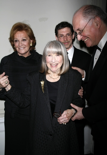 Cynthia Harris, Julie Harris and Simon Jones at Julie Harris Honored at Actors Company Crystal Gala