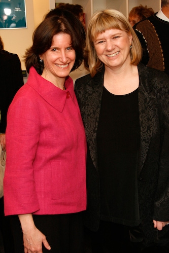 Nancy Star and Playwright Kathleen Clark