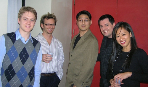 Shonn Wiley, Scott Thornton, Tim Huang, Doug Oberhamer and Marie-France Arcilla