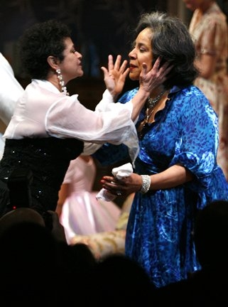 Debbie Allen (Director) and sister, Phylicia Rashad
