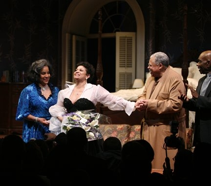 Phylicia Rashad, Debbie Allen and James Earl Jones