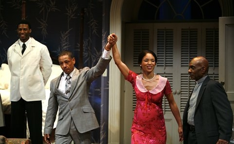 Giancarlo Esposito and Lisa Arrindell Anderson Photo
