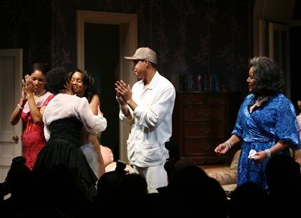 Lisa Arrindell Anderson, Debbie Allen (Director), Anika Noni Rose, Terrence Howard and Phylicia Rashad