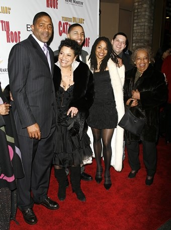 Norm Dixon and Debbie Allen with family