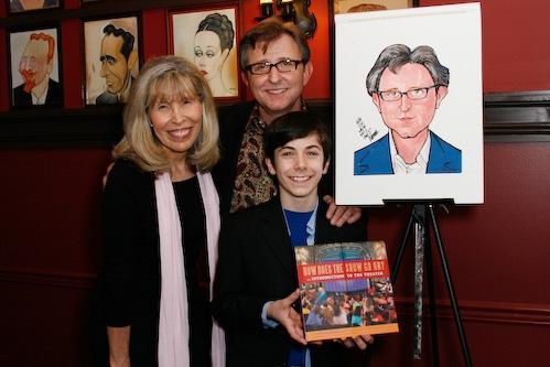Shelly Goldberg, Thomas Schumacher, and Henry Hodges