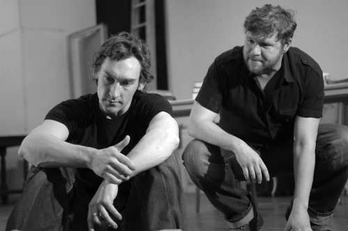 Joseph Mawle and Shane Attwooll