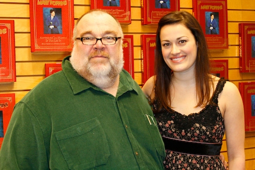 Michael Lassell and Ashley Brown