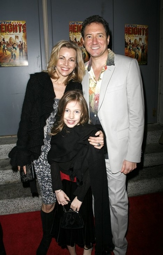 Kevin McCollum (Producer) with wife, Lynnette Perry, and daughter
