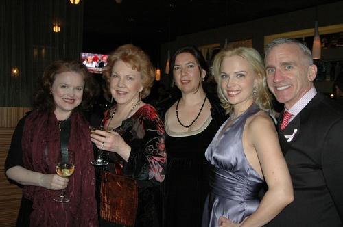 Charlotte Booker, Beth Fowler, Karen Carpenter, Kelly Sullivan and Mark S. Hoebee