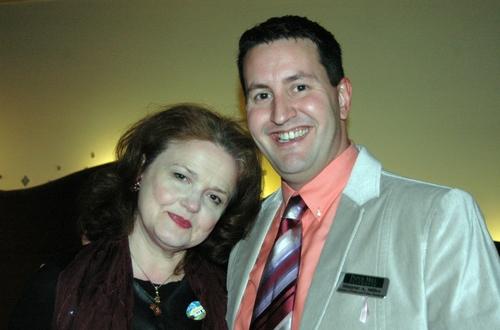 Charlotte Booker and Shayne Miller