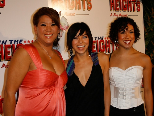 Doreen Montalvo, Krysta Rodriguez, and Rosie Lani Fiedelman Photo
