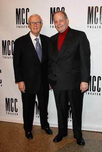 Jerry Frankel and Jeffrey Richards at MCC Theater's Annual Gala 'Miscast'