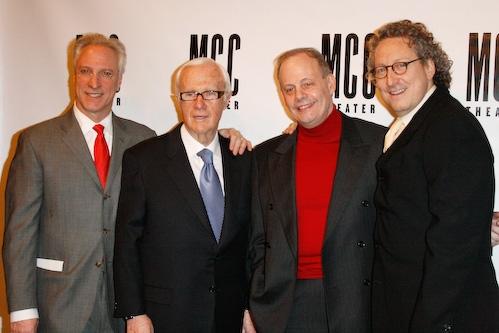 Robert LuPone,Jerry Frankel, Jeffery Richards, Bernard Telsey