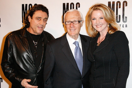 Ian McShane, Jerry Frenkel and Gwen McShane