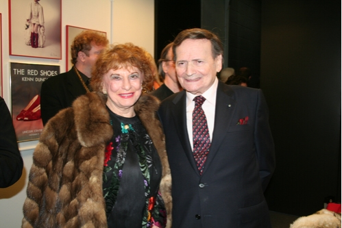 Marian Javits and Byron Janis