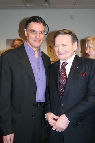 Robert Cuccioli and Byron Janis