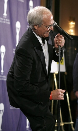 Chevy Chase at 2008 Rock & Roll Hall of Fame