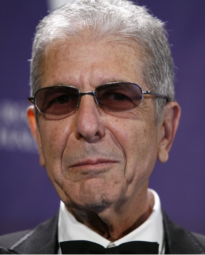 Leonard Cohen at 2008 Rock & Roll Hall of Fame