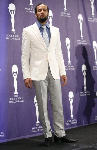 Ben Harper at 2008 Rock & Roll Hall of Fame