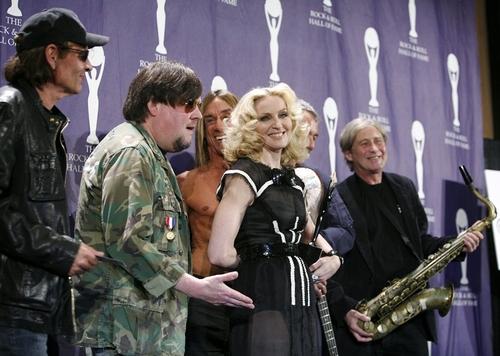 Madonna and Iggy Pop
