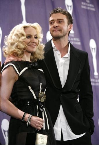 Madonna and Justin Timberlake Photo