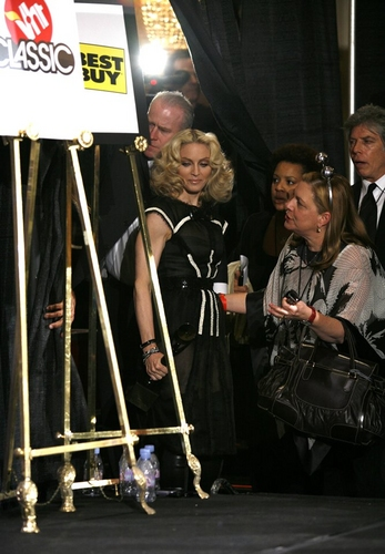Madonna  and Liz Rosenberg