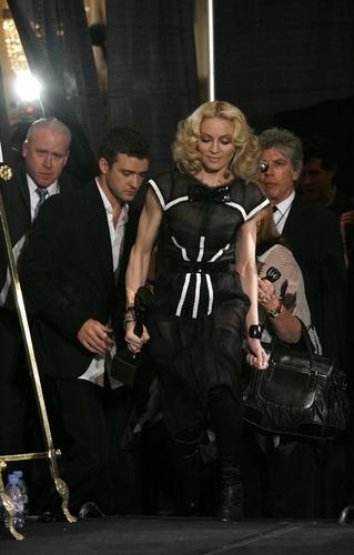 Justin Timberlake and Madonna Photo