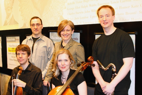 Thomas Murray, Caroline Humphris, Todd Groves (bottom) Matthew Lehmann, Mairi Dorman-Phaneuf