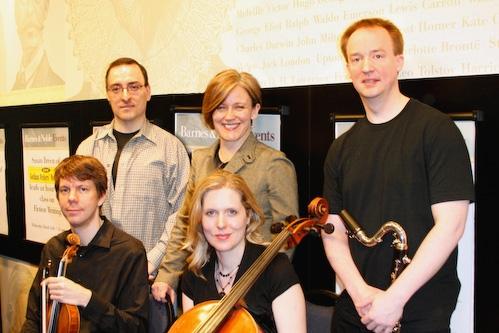 Thomas Murray, Caroline Humphris, Todd Groves (bottom) Matthew Lehmann, Mairi Dorman- Photo