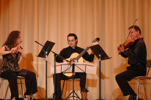 The Molino Trio-Tracey Grimaldi, Tony Finley, Nilko Andreas