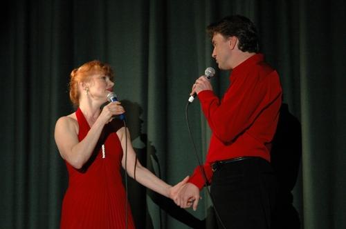 Barbara McCulloh and Brad Little