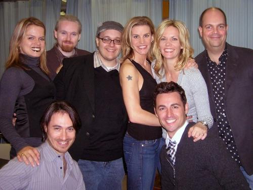 Amy Spanger, Matt Gallagher, Randy Blair, Jenn Colella, Jenifer Foote, Brad Oscar, Damien Bassman and Max von Essen