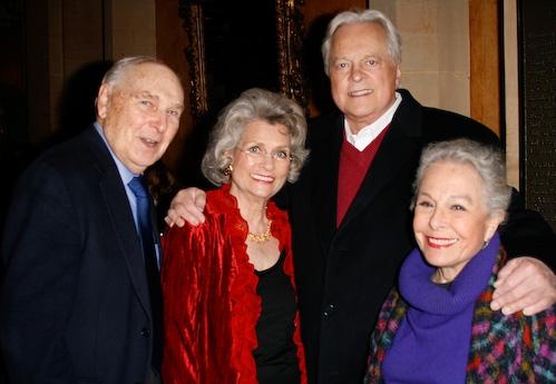Donald Saddler, Louise Kerz Hirschfeld, Robert Osbourne, and Marge Champion