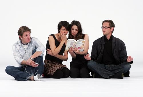 Kevin Rahm, Nancy Bell, Marin Hinkle and Matt Letscher