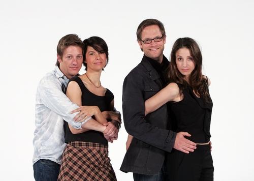 Kevin Rahm, Nancy Bell, Matt Letscher and Marin Hinkle