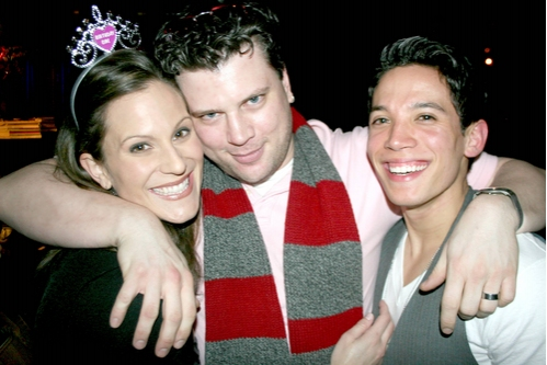 Kristy Cates, Chris Nichols and Hevin Santos