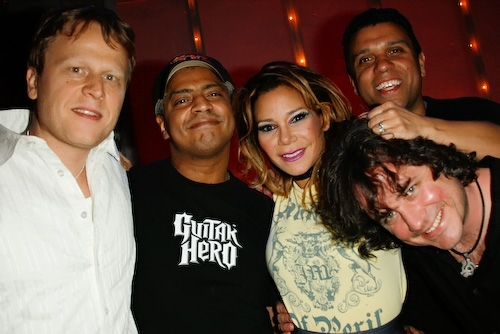 Keith Cotton, Dave Matos, Tony Cruz, Daphne Rubin-Vega, and Steve Morris