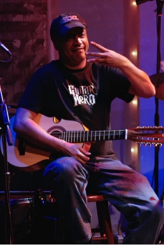 On Guitars, Dave Matos  at Daphne Rubin Vega @ The Zipper Factory