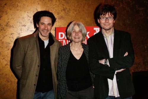 Scott Cohen, Caryl Churchill, and Director James Macdonald