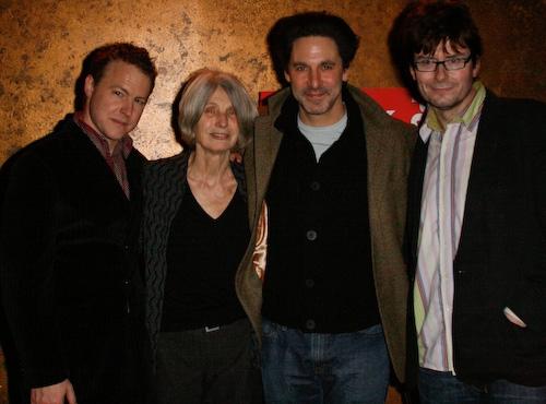 Samuel West, Caryl Churchill, Scott Cohen, and James Macdonald