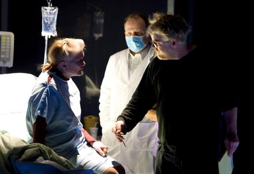 Ellen Burstyn, Sidney Williams and director Philip Seymour Hoffman